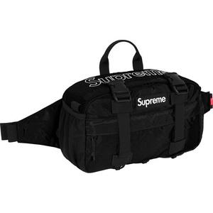 Supreme Waist Bag black 新品未使用 黒 国内正規品 2019FW 19AW