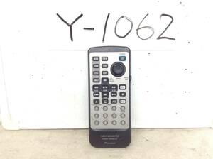 Y-1062 カロッツェリア CXB7493 SDV-P7用 リモコン 即決 保障付