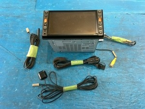 日産純正OP ワンセグ 7型ワイド/200mm HDDナビ HS309-W SDカード/USB対応 CD録音・DVD再生機能付 地図データ:2012年度版