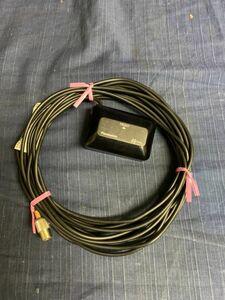 б\у   Текущая ситуация  Panasonic VICS  блок   Оригинальный номер детали   неизвестный   Beacon   антенна   запчасть   автомобиль  использование   Panasonic   *  U60