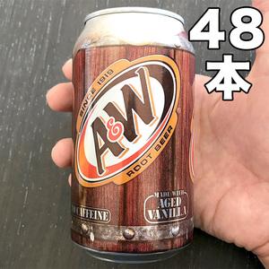 ルートビア 355ml 48缶(4ケース) 新品 未開封品 A&W ( 沖縄限定 ROOTBEER 炭酸飲料 ソフトドリンク ノンカフェイン