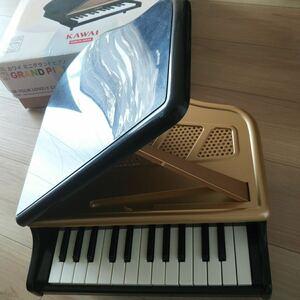 KAWAI 楽器 ミニグランドピアノ 幼児 音色がきれい インテリアにも 弾きやすい 黒色 箱入り