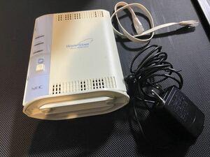 無線LANルータ NEC WARPSTAR Aterm WR8100N