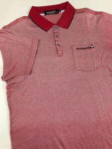 ルコック le coq sportif ルコックスポルティフ 半袖 ポロシャツ メンズ Mサイズ ゴルフウェアー