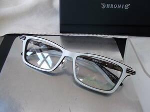 CHRONIC クロニック 超かっこいい 眼鏡フレーム CH-137-5 お洒落な白
