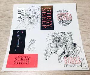 即決 送料無料 米津玄師 アルバム STRAY SHEEP ストレイシープ 封入 ステッカー のみ 初回限定 CD おまもり盤 通常盤 アートブック盤