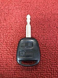 トヨタ 純正キーレス 2ボタン 33020 作動チェック済み KK458