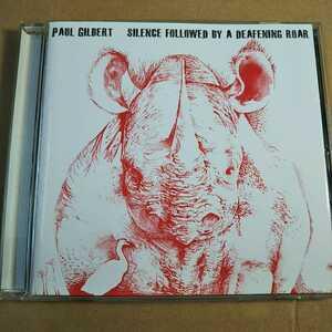 中古CD PAUL GILBERT / ポール・ギルバート『SILENCE FOLLOWED BY A DEAFENING ROAR』国内盤/帯無し IECP-10136【1297】