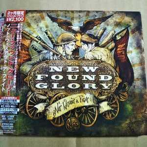 中古CD NEW FOUND GLORY / ニュー・ファウンド・グローリー『NOT WITHOUT A FIGHT』国内盤/帯有り/紙ジャケ EICP-1114【1341】