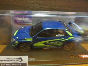 京商 ミニッツ スバル インプレッサ WRC STI 勝田車 MZP403SR