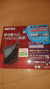 BUFFALO WHR-HP-G300NA 無線LAN親機 新品未使用