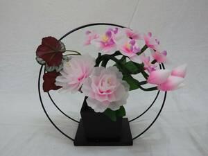 【展示品現品】盆提灯 グランドルミナス maru 胡蝶蘭・牡丹 盆ちょうちんの代わりに 造花
