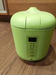 炊飯器 神明きっちん ソフトスチーム米 AKーPD01 グリーン Poddi おいしいお米屋さん
