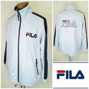S【FILA/フィラ】MENS/メンズ 男性用 トップス 長袖 トラック ジャージ ジャケット スポーツ ウェア トレーニング ジム マラソン ランナー