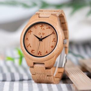 BOBO BIRD 木製 腕時計 男性 時計 ウォッチ メンズ S1744