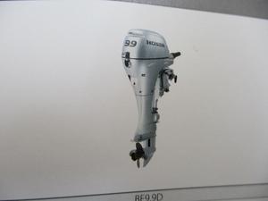 ホンダ9.9馬力船外機 新品