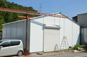 夏は涼しく冬は暖かい 倉庫 プレハブ ・ ガレージ倉庫 ・ 車庫