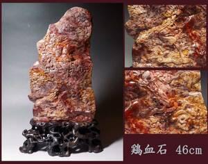 特選古美術 中国古玩 鶏血石・寿山石 細密彫刻 七龍壁 46cm 9kg 中国美術 中国骨董 田黄