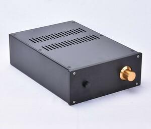 総アルミ製シャーシケース229E 真空管アンプ パワーアンプ デジタルアンプ ヘッドホンアンプ D/Aコンバーター USB DAC PCオーディオ 自作に