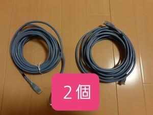 ☆ELECOM LAN ケーブル 5m 2個☆
