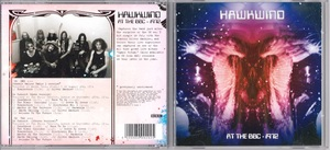 Hawkwind ホークウインド - At The BBC - 1972 限定リマスター二枚組CD