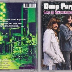 Deep Purple ディープ・パープル - Live In Amsterdam 1969 ボーナス・トラック1曲(再生エラー有)追加収録CD
