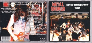 Metal Church - Live In Mounds View 1985 ボーナス・トラック3曲収録リマスターCD
