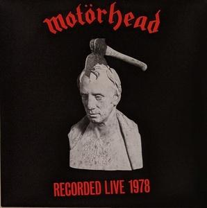 Motorhead モーターヘッド - What's Words Worth? - Recoded Live 1978 限定レッド・カラー再発アナログ・レコード