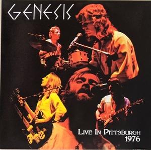 Genesis ジェネシス - Live In Pittsburgh 1976 限定二枚組アナログ・レコード
