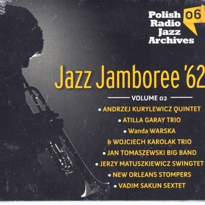 Various (Andrzej Kurylewicz, Atilla Garay, Wanda Warska, Jan Tomaszewski 他) - Jazz Jamboree '62 Volume 02 CD