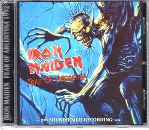 Iron Maiden アイアン・メイデン - Fear Of Argentina CD