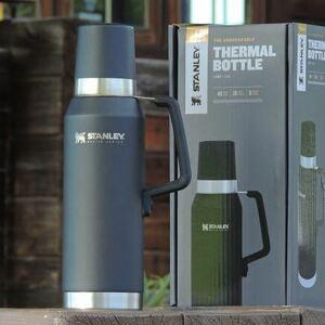 スタンレーSTANLEYマスター真空ボトル1.3L☆アウトドア 水筒 キャンプ outdoor camp 真空断熱ボトル