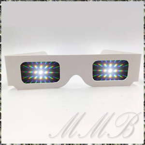 Rainbow Prism 3d Glasses night . glasses romance сhick illumination glass glasses flower fire glasses (13500 radiation shape line ) [ free shipping ]