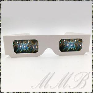 Rainbow Prism 3d Glasses night . glasses romance сhick illumination glass glasses flower fire glasses (LONG STAR. departure ) [ free shipping ]