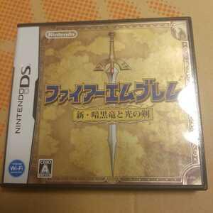 DSソフト ファイアーエムブレム新・暗黒竜と光の剣