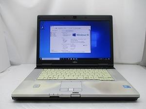 △富士通 Lifebook E780/A Core i5 M520 2.4GHz 4GB 320GB DVDマルチ 15.6インチ HD 1366×768 Windows10 Pro 64bit