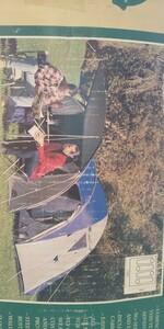 テント 4人用です。