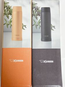 ★期間限定更にお値下げ ZOJIRUSHI ステンレスマグボトル480ml 二本セット 色 型番変更可能(白、ピンク、ゴールド等)