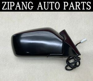 VL024 AB230 Volvo 240 GL limited right door mirror electric adjustment type * black group * operation OK [ animation equipped ] 0* prompt decision *