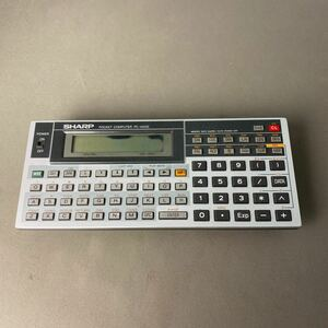 K360 SHARP シャープ PC-1404G ポケットコンピュータ ジャンク