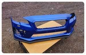 スバル WRX STI VAB フロント バンパー フロントリップ スポイラー 付き 57704va000 ST96020vv000 引取 W-5267