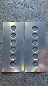 bar ring processing bonnet board t1.0 400×170 40φ