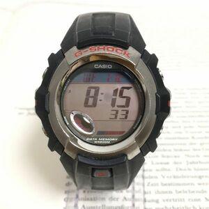 ★CASIO G-SHOCK 多機能 メンズ 腕時計 ★ カシオ G-ショック G-3011 アラーム クロノ タイマー ブラック 稼動品 F1717