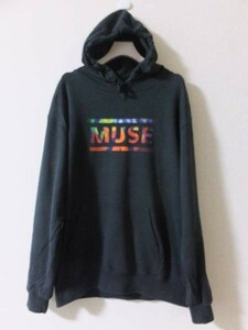 MUSE ミューズ スウェット パーカー 黒 The Resistance TOUR 2010