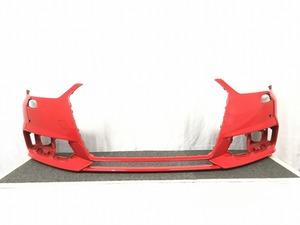 AUDI アウディ A1 8X 純正 フロントバンパー 赤 中古