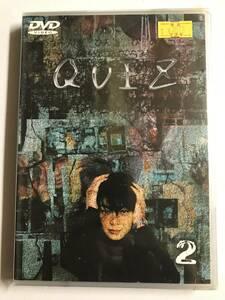 【DVD】QUIZVOL.2 財前直見, 内藤剛志【レンタル落ち】@70
