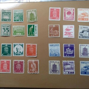 昭和切手24枚