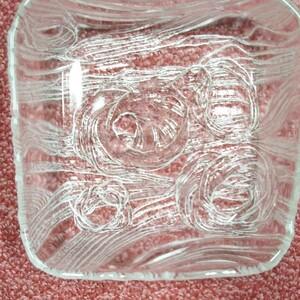 皿 20cm ガラス皿 ガラス食器