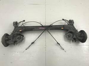 _b34126 ホンダ ライフ ディーバ DIVA DBA-JB5 リア リヤ アクスルビーム ドラムブレーキ サイドブレーキワイヤー ホース ABS