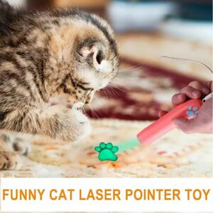 猫のおもちゃ 猫じゃらし 可愛いお手手ライト LEDにくきゅうライト